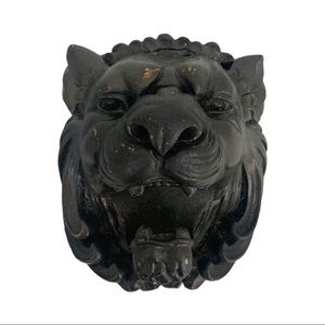 Roaring Lion Head Wall Decor